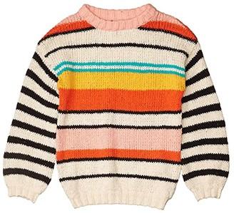 Billabong Kids On The Horizon Sweater (Little Kids/Big Kids) (Multi) Girl's Sweater