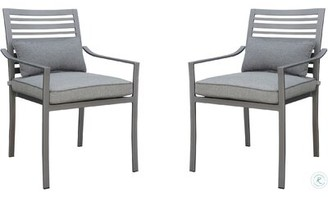 Peggie Patio Dining Chair with Cushion Brayden Studio