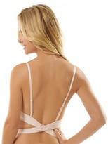 Jezebel Women's Embrace Backless Convertible Extreme Plunge Push-Up Bra