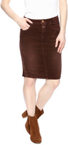 Closed Velvet Pencil Skirt