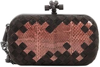 Bottega Veneta Pochette Knot Pink Python Clutch bags