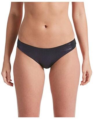 Nike Onyx Flash Reversible Sling Bikini Bottoms (Iridescent Black) Women's Swimwear