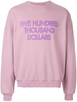 Yoshio Kubo Pink Graphic Sweater