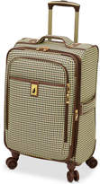 """London Fog Oxford Hyperlight 21"""" Expandable Spinner Carry-On Suitcase, Created for Macy's"""