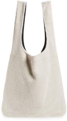 Eileen Fisher Reversible Recycled Polyester Fleece & Recycled Nylon Tote