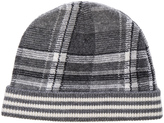 Thom Browne Tartan Intarsia 4 Bar Stripe Hat
