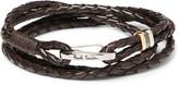 Paul Smith - Woven Leather Wrap Bracelet