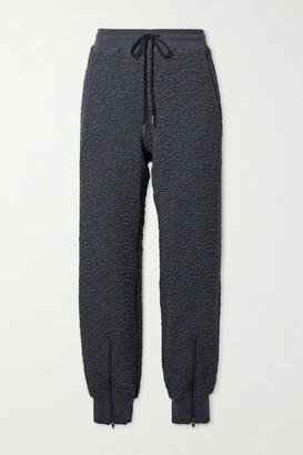 Twenty Montreal 3d Cracked Earth Textured-jersey Sweatpants - Dark gray