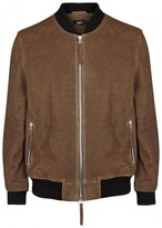 Blood Brother Oil Brown Leather Jacket