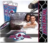 "Scrapbook Colorado Avalanche 8"" x 8"" Ticket and Photo Album"