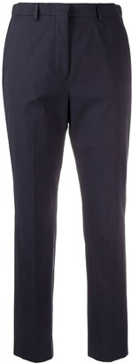 Incotex Cropped Slim-Fit Trousers