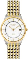 Rotary Gb08001/02 Gold And Silver Watch