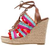 Glamorous Platform sandals brown/multicolor