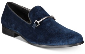 INC International Concepts Inc Men's Harrow Velvet Smoking Slippers, Created for Macy's Men's Shoes