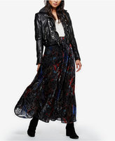 Free People Love So Right Printed Maxi Skirt