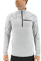 adidas Men's Outdoor climawarm Terrex Logo Performance Half-Zip Pullover