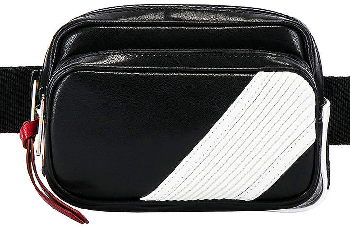 Givenchy MC3 Bum Bag in Black & White   FWRD