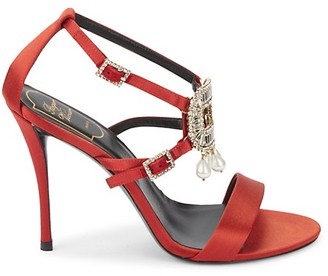 Roger Vivier Embellished Stiletto Sandals