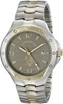 U.S. Polo Assn. Men's Two Tone Analogue Dial Expansion Watch USC80054