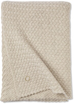 Thumbnail for your product : Oyuna Scala 100% Cashmere Throw - 180x120cm - Beige