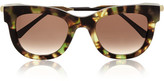 Thierry Lasry Sexxxy D-frame Acetate And Gold-plated Sunglasses - Black