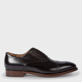 Men's Black Parma Calf Leather 'Berty' Brogues