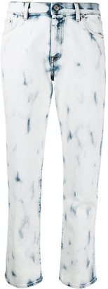 Golden Goose Bleached Straight Leg Jeans