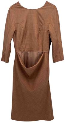 Burberry Beige Wool Dresses