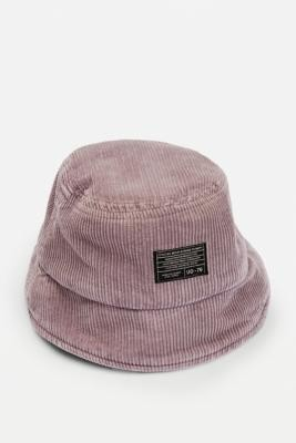 Urban Outfitters Lilac Acid-Wash Corduroy Bucket Hat - Purple ALL at