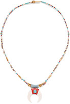 Chan Luu Gold-plated Beaded Necklace - one size