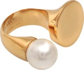 Chloé DARCEY ROUND RING WITH PEARL
