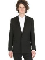 Christian Dior Serge Wool Cashmere Smoking Jacket