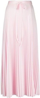 M Missoni High-Waisted Pleated Skirt