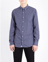Tommy Hilfiger New York-fit micro-print cotton shirt
