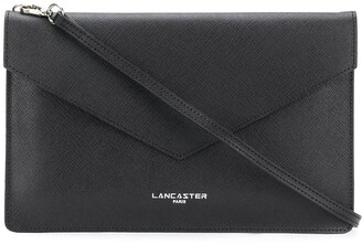Lancaster Leather Crossbody Clutch