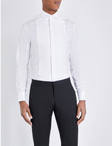 Armani Collezioni Regular-fit cotton shirt