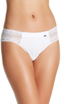 Chantelle Lace Trim Thong Underwear
