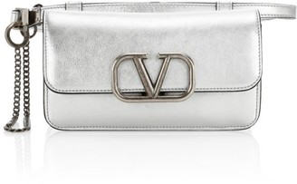 Valentino VSling Metallic Leather Belt Bag