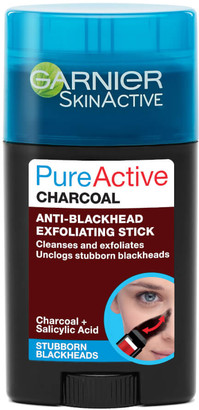 Garnier Pure Active Charcoal Anti-Blackhead Exfoliating Stick 50ml