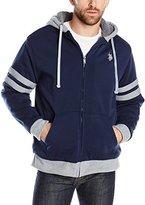 U.S. Polo Assn. Men's Fleece Hooded Jacket