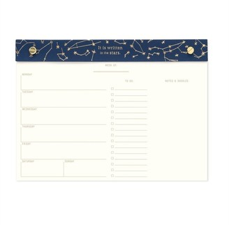 Designworks Weekly Desk Planner Constellations