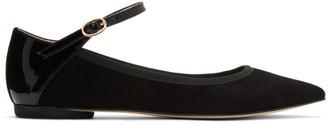 Repetto Black Clemence Ballerina Flats