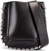 Isabel Marant Nasko Shoulder Bag in Black & Silver | FWRD