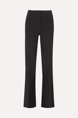 Emilio Pucci Wool-blend Flared Pants - Black