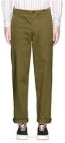 MAISON KITSUNÉ Cotton worker pants