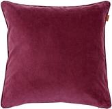 Gant Velvet Cushion Purple Fig