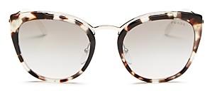 Prada Women's Mirrored Cat Eye Sunglasses, 54mm