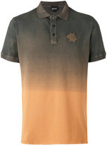 Just Cavalli ombre polo shirt - men - Cotton/Spandex/Elastane - S