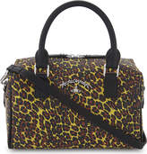 Vivienne Westwood leopard-print leather shoulder bag