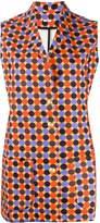 C'Est La V.It Nancy geometric mini dress
